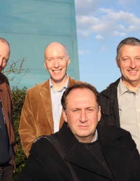 Stephen Critchlow and Big Finish Team